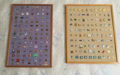 Retour vers les années 90… Ma collection de pin's !