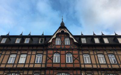 Wernigerode, de beaux paysages, de la brique et du colombage