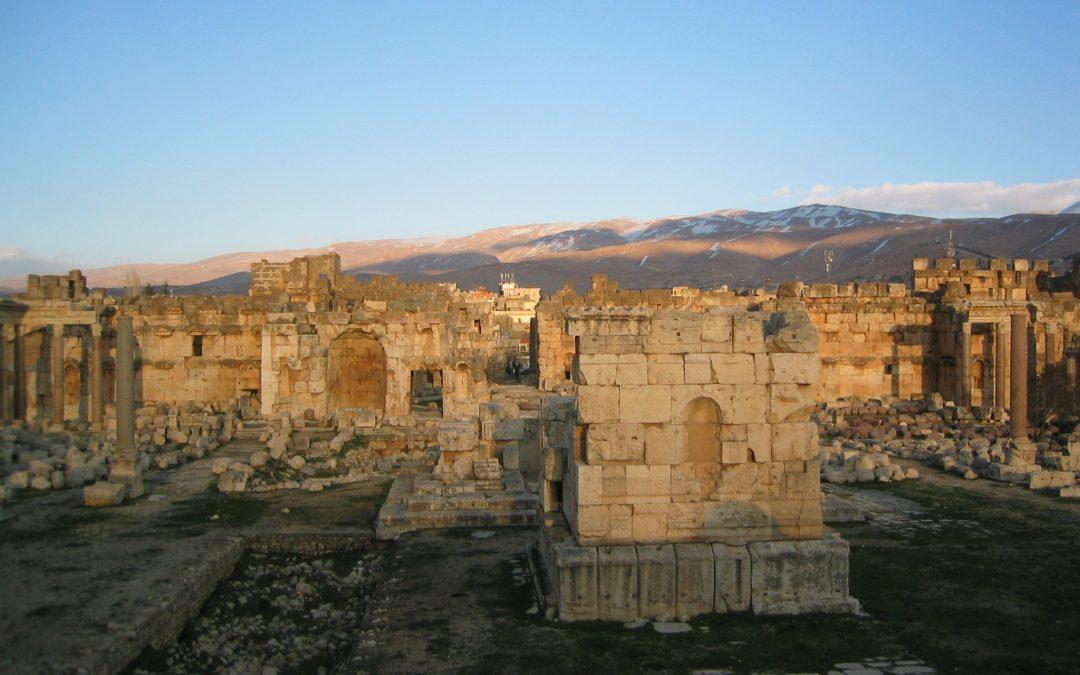 Mes voyages lointains : 1. Le Liban