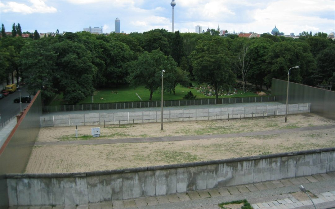 Le 13 août 1961 : la construction du mur de Berlin