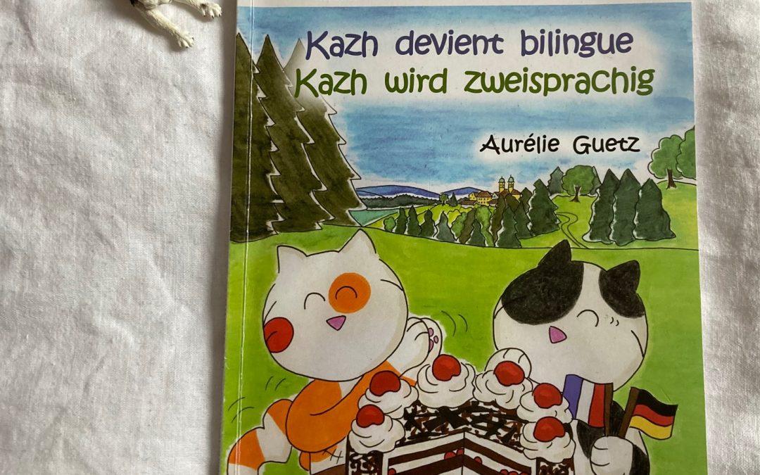 Kazh devient bilingue : le tome 2 de la bande dessinée franco-allemande des aventures de Kazh