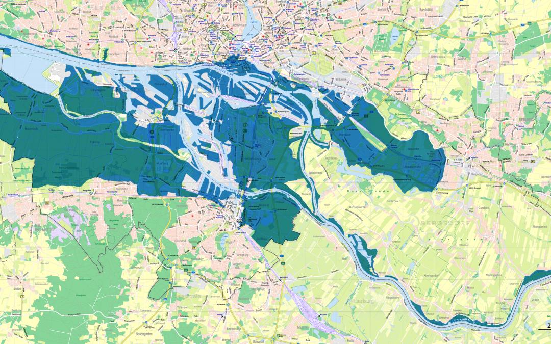 Die Sturmflut : une inondation catastrophique dans la nuit du 16 au 17 février 1962 à Hambourg